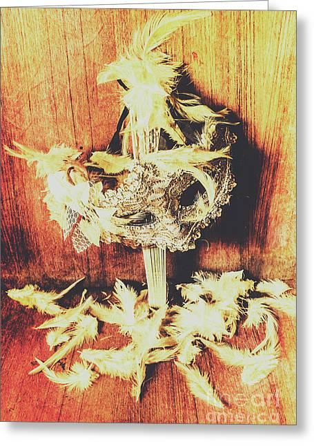 Wild West Saloon Dancer Still Life Greeting Card by Jorgo Photography - Wall Art Gallery