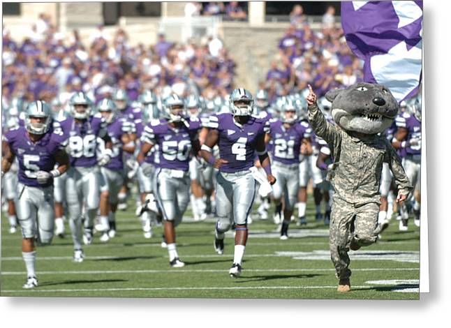Wildcats Greeting Cards - Wildcat Willie Greeting Card by Sgt Scott Lamberson