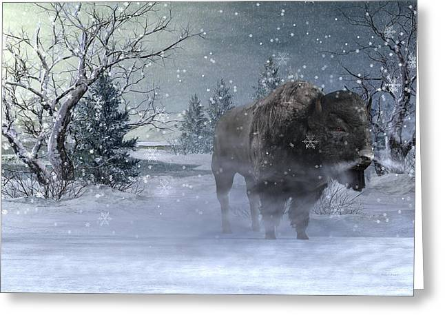 Wilderness Greeting Card by Betsy Knapp