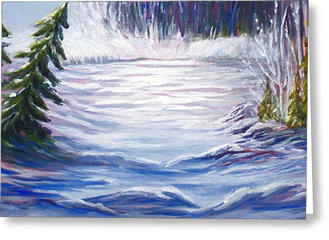 Northern Canada Greeting Cards - Wilderness Greeting Card by Joanne Smoley