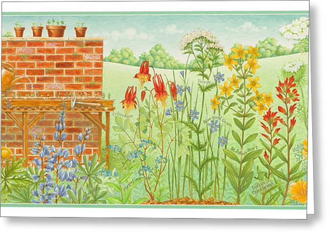 Dress Greeting Cards - Wildflower Gardening Greeting Card by Lynn Bywaters