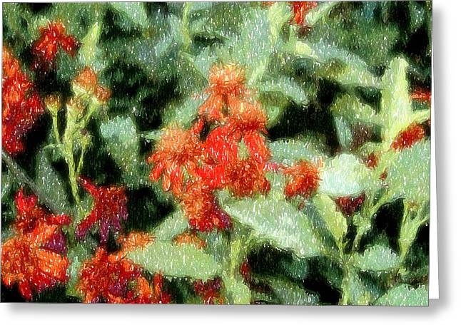 Subdued Hues Greeting Cards - Wildflowers Greeting Card by Lyle  Huisken