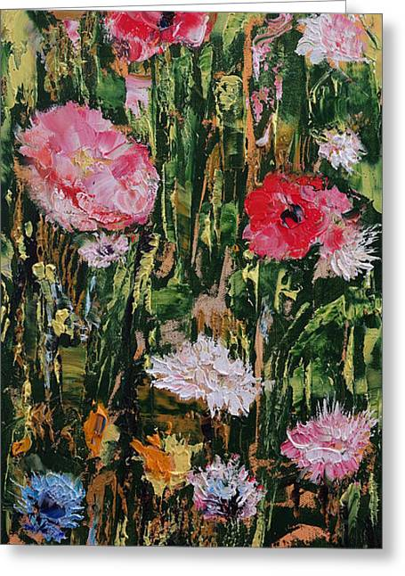 Wildflowers Greeting Card by Michael Creese