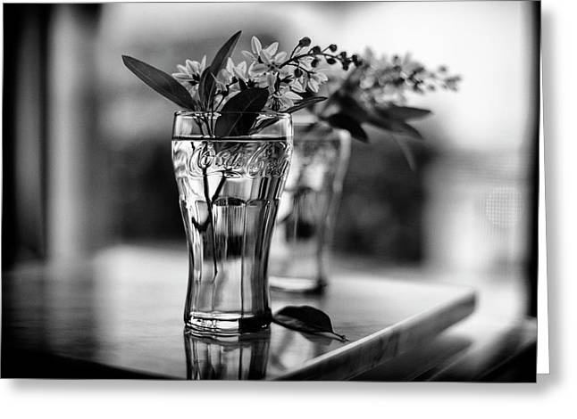 Wildflowers Still Life Greeting Card by Laura Fasulo