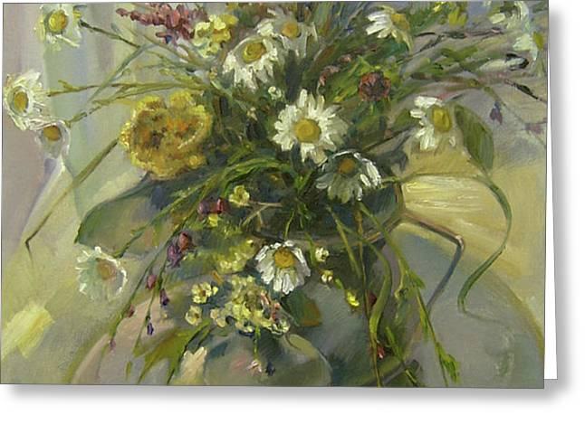 Wildflowers Greeting Card by Tigran Ghulyan