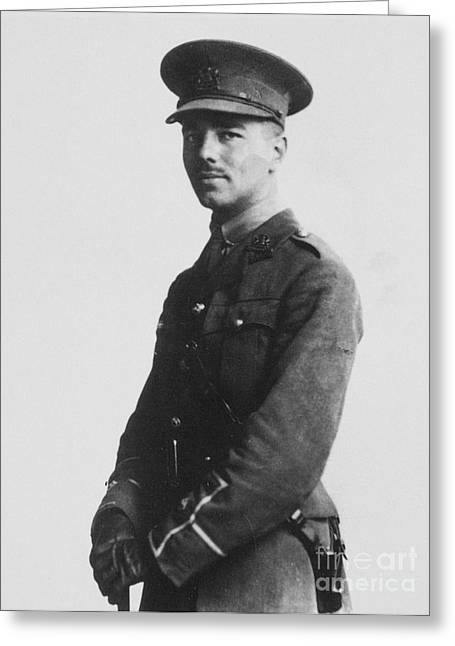 Wilfred Owen (1893-1918) Greeting Card by Granger