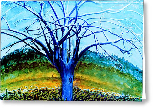 Midday Paintings Greeting Cards - Wiliwili Greeting Card by Kevin Smith