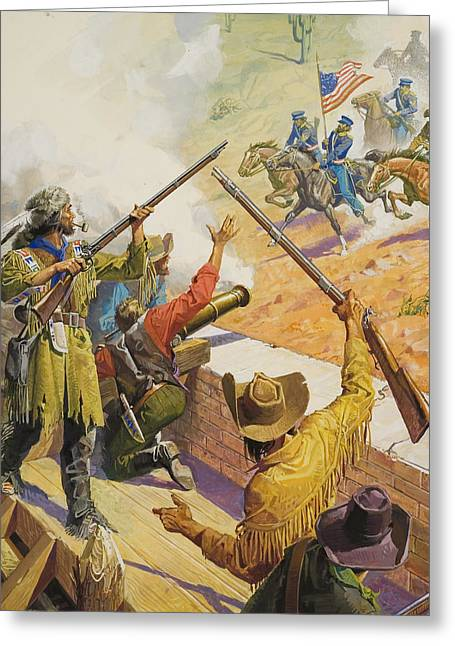 Sante Fe Trail Greeting Cards - William Bent  Greeting Card by Severino Baraldi