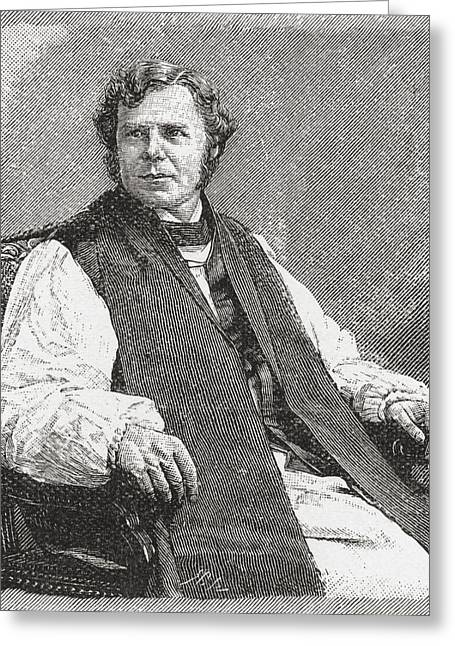 Chaplain Greeting Cards - William Boyd Carpenter, 1841 Greeting Card by Ken Welsh