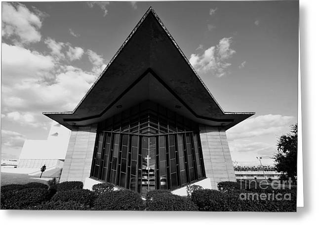 Southern Colleges Greeting Cards - William H. Danforth Chapel Greeting Card by David Lee Thompson