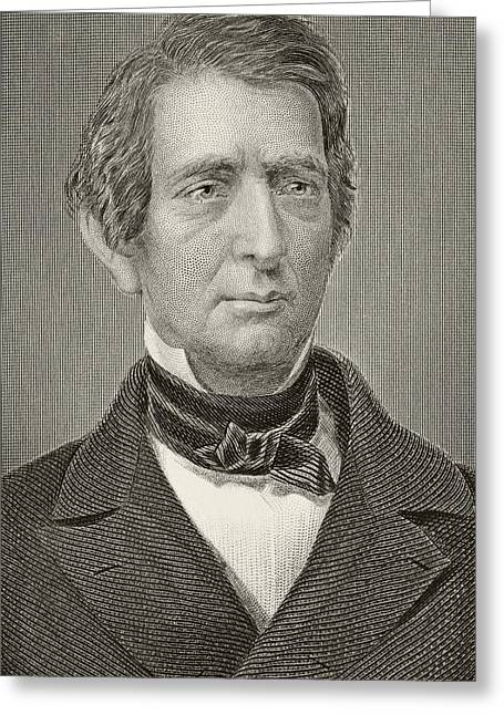 Purchase Greeting Cards - William Henry Seward 1801-1872 Greeting Card by Ken Welsh