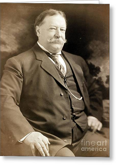 William Howard Taft, 42nd Secretary Greeting Card by Science Source