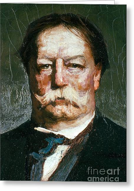Taft Greeting Cards - William Howard Taft Greeting Card by Photo Researchers