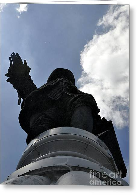 William Penn Greeting Cards - William Penn Greeting Card by Andrew Dinh