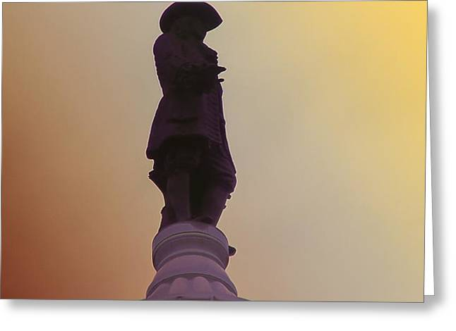 William Penn Greeting Card by Bill Cannon
