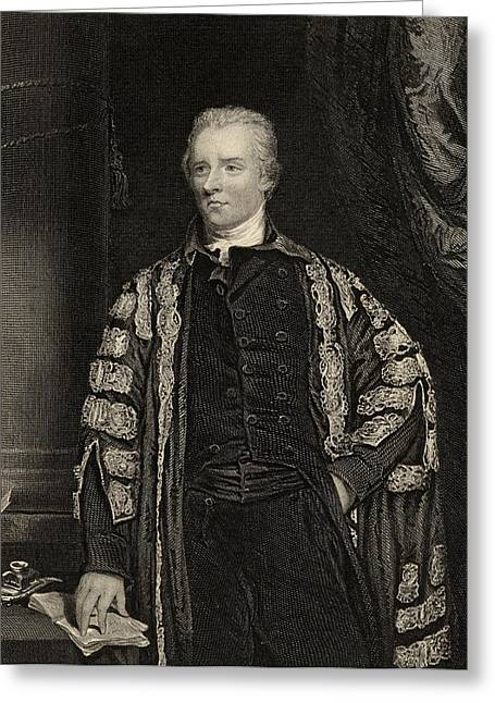 British Prime Minister Greeting Cards - William Pitt  The Younger  1759-1806 Greeting Card by Ken Welsh