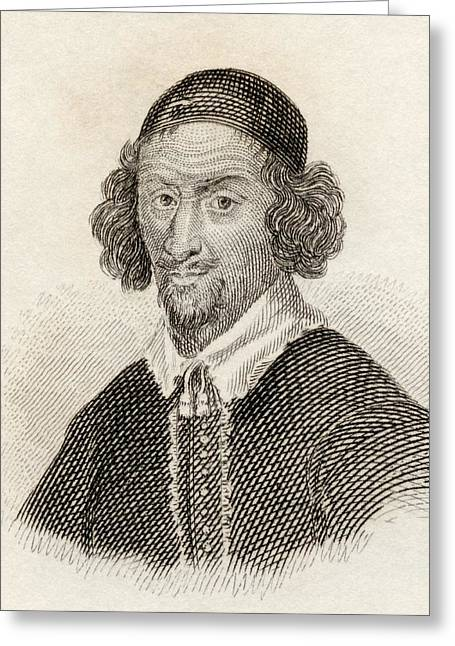 Political Figures Greeting Cards - William Prynne, 1600 To 1669. English Greeting Card by Ken Welsh