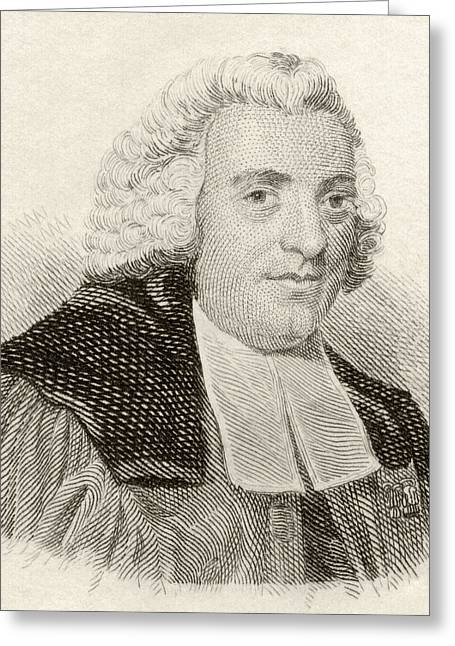 Chaplain Greeting Cards - William Robertson, 1721 To 1793 Greeting Card by Ken Welsh