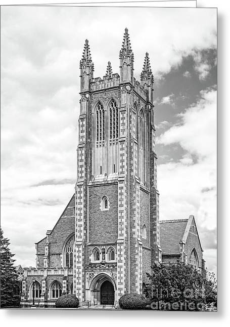 Williams College Thompson Memorial Chapel Greeting Card by University Icons