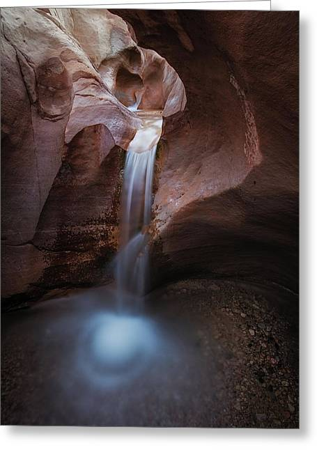 Willis Creek Fall Greeting Card by Edgars Erglis