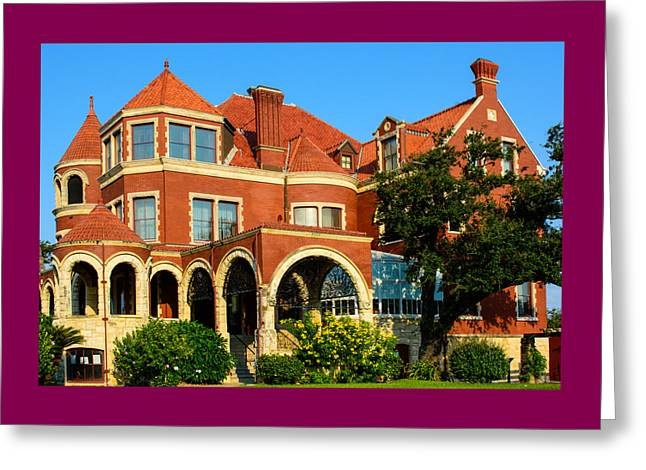 Historic Home Greeting Cards - Willis-Moody Mansion Greeting Card by Roger Reeves  and Terrie Heslop