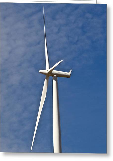 Rotate Greeting Cards - Wind Power 3 Greeting Card by Todd Kreuter