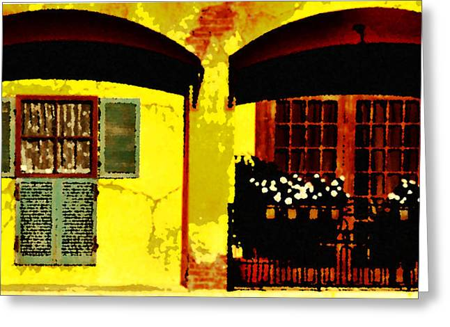 Window And Doors Greeting Card by Lyle  Huisken