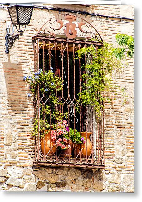 Breezy Greeting Cards - Window Breeze Greeting Card by Jon Berghoff
