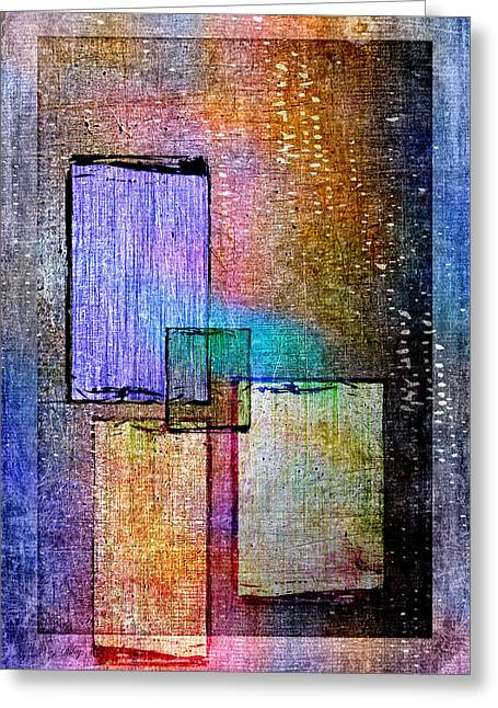 Component Greeting Cards - Window Colorbox Greeting Card by Fran Riley
