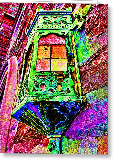 Window To The Soul #2 Greeting Card by James Stoshak