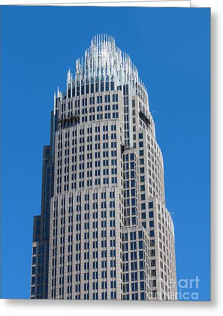 Charlotte Nc Prints Greeting Cards - Window Washers Greeting Card by Robert Yaeger