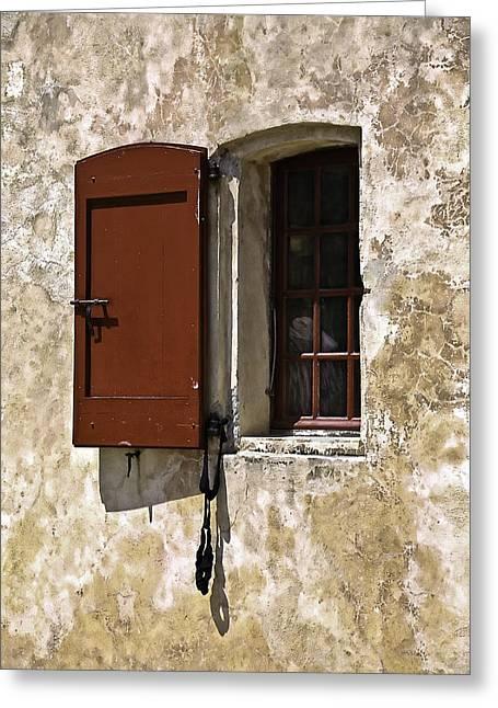 Azur Digital Greeting Cards - Windows and Doors 1 Greeting Card by Mark Coran