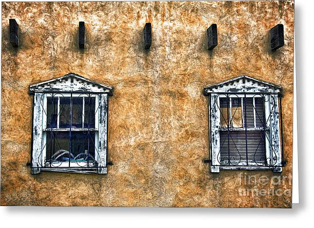 Adobe Greeting Cards - Windows I Greeting Card by Ray Laskowitz - Printscapes