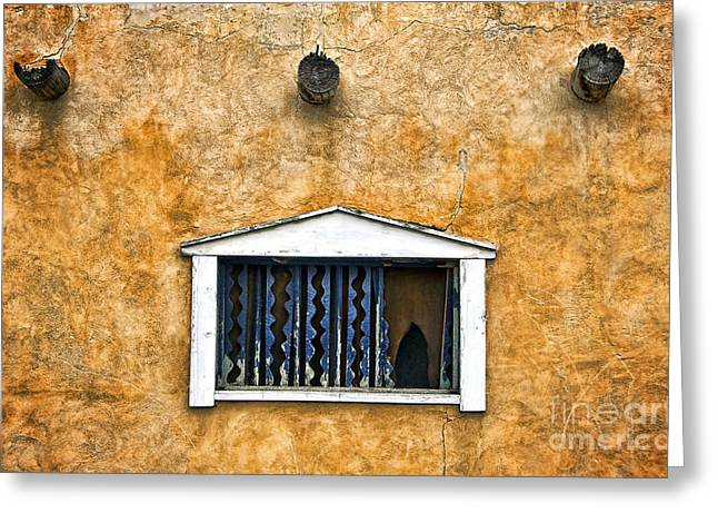 Adobe Greeting Cards - Windows II Greeting Card by Ray Laskowitz - Printscapes