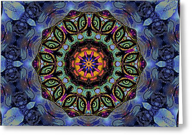 Windows To The Universe Greeting Card by Natalie Holland