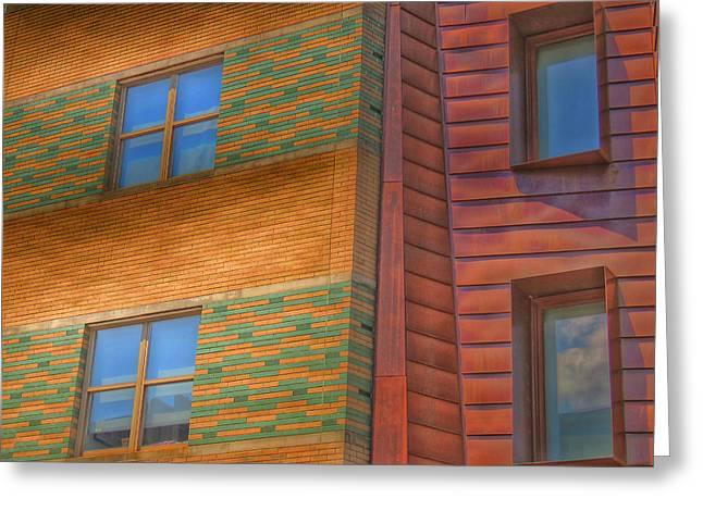 Wildlife Refuge. Greeting Cards - Windowscapes Greeting Card by Kathi Isserman