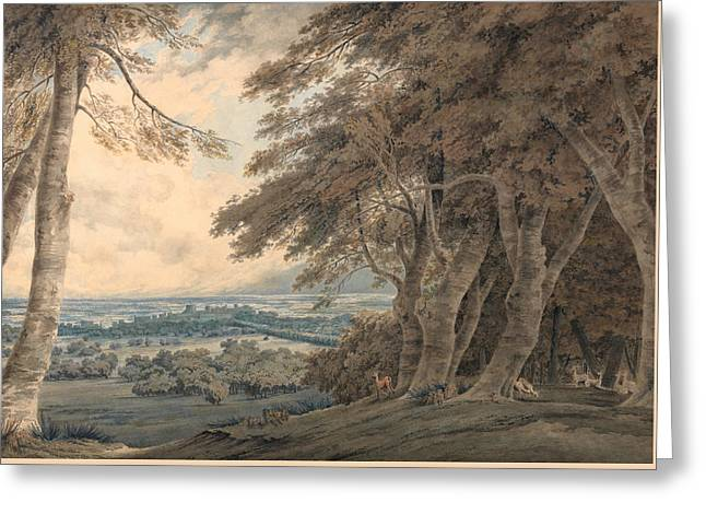 Windsor Greeting Card by Joseph Mallord William Turner
