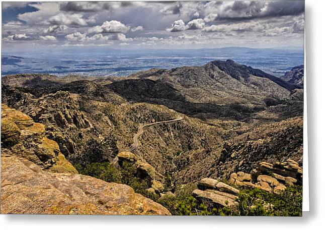 Landscape Framed Prints Greeting Cards - Windy Point No.1 Greeting Card by Mark Myhaver