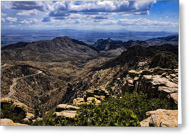 Landscape Framed Prints Greeting Cards - Windy Point No.11 Greeting Card by Mark Myhaver