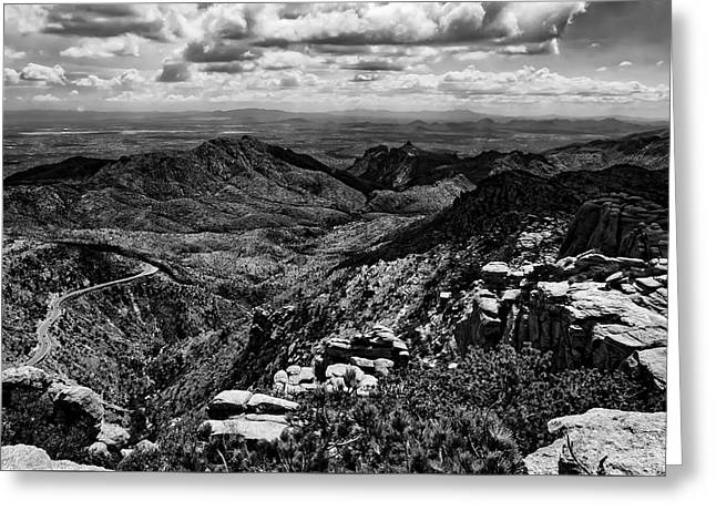 Landscape Framed Prints Greeting Cards - Windy Point No.12 Greeting Card by Mark Myhaver