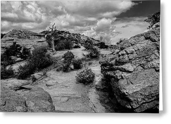 Landscape Framed Prints Greeting Cards - Windy Point No.14 Greeting Card by Mark Myhaver