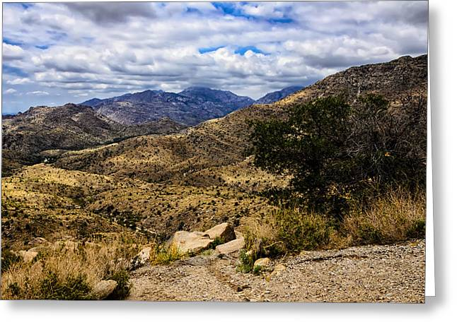 Landscape Framed Prints Greeting Cards - Windy Point No.15 Greeting Card by Mark Myhaver