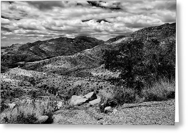 Landscape Framed Prints Greeting Cards - Windy Point No.16 Greeting Card by Mark Myhaver