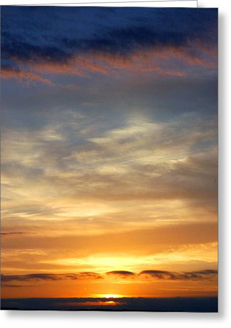 Skys Greeting Cards - Wine Time Greeting Card by Robert Anschutz