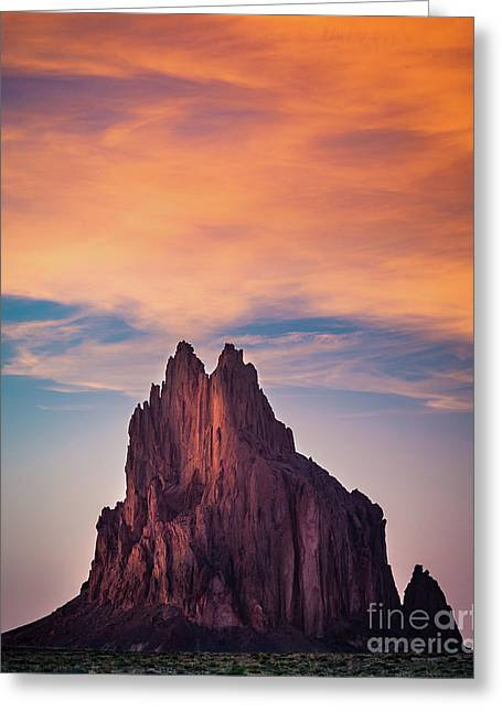 Winged Rock Greeting Card by Inge Johnsson