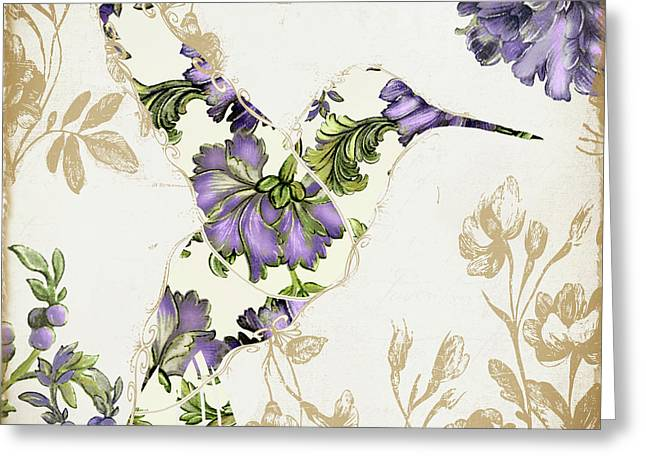 Winged Tapestry IIi Greeting Card by Mindy Sommers