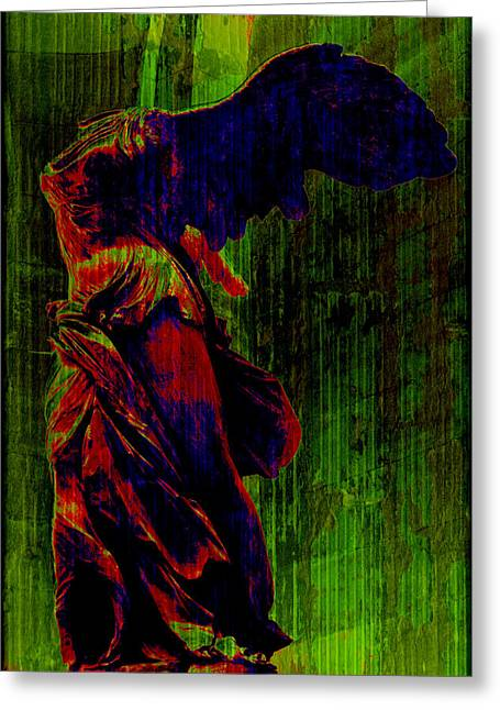 """winged Victory"" Greeting Cards - Winged Victory Greeting Card by Susie Weaver"