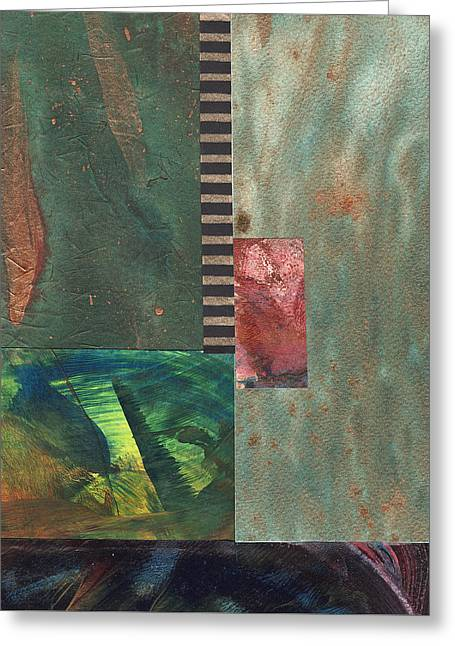 Archangel Mixed Media Greeting Cards - Wings of the Healer #2 Greeting Card by Mary Martin