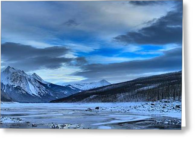 Winter At Medicine Lake Greeting Card by Adam Jewell