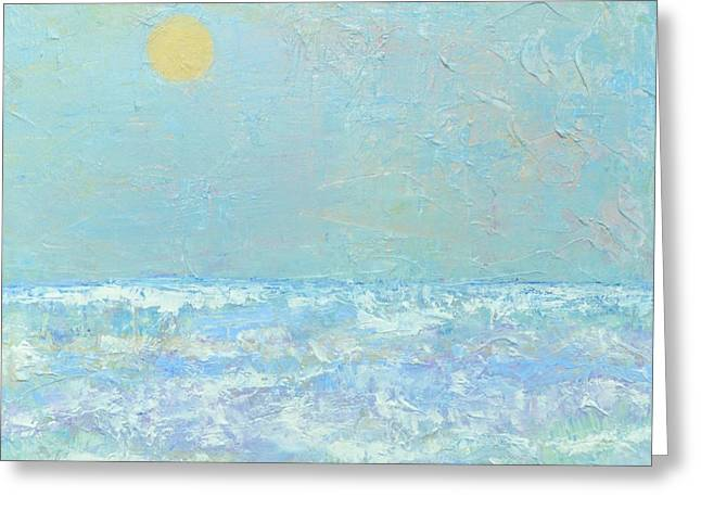Faa Featured Greeting Cards - Winter At Sea Greeting Card by Marla McPherson